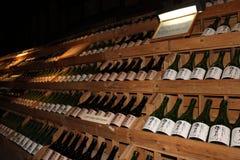 Sake bottles. At  Sake museum, Japan Royalty Free Stock Photo