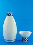 Sake cup and pitcher Stock Images