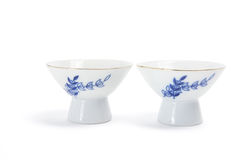 Sake Cups Royalty Free Stock Photos