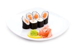Sake hosomaki Royalty Free Stock Image