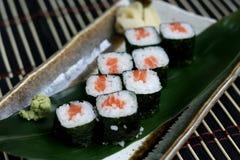 Sake hosomaki Stock Image
