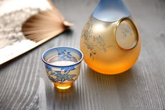 SAKE Royalty Free Stock Photo