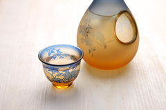 SAKE stock photo