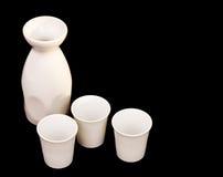Free Sake Jug And Cups Stock Image - 2301351