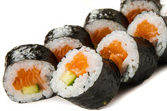 Sake-kappa maki Royalty Free Stock Photography