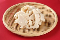 Sake kasu ( japanese rice wine lees) Royalty Free Stock Image