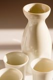 Sake pitcher Royalty Free Stock Images