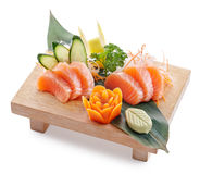 Sake sashimi Stock Photo