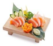 Sake sashimi Stock Photo