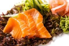 Sake sashimi Royalty Free Stock Image