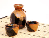 Sake set Stock Images