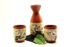Free Sake Set Royalty Free Stock Photos - 11887558
