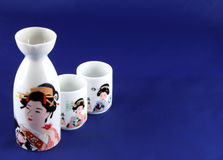 Sake set Royalty Free Stock Photos