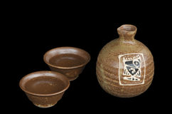 Sake set Royalty Free Stock Photography