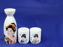 Sake set 2 Stock Photo