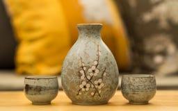 Sake set Royalty Free Stock Photos