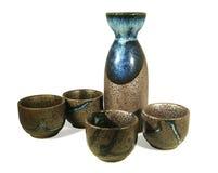 Sake Set Royalty Free Stock Photography