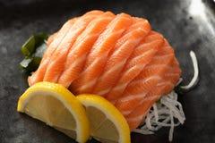 Sake sushi Stock Images