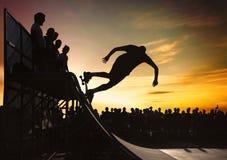 Sakeboarding Immagine Stock