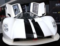 Saker RapX Sports Car Promotion Stock Photos