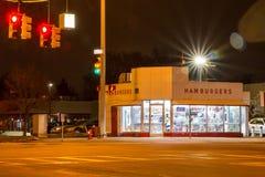 Saker som du `-ll ser i i stadens centrum Detroit Fotografering för Bildbyråer