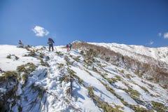 Sakhalin berg och vinter Royaltyfri Foto