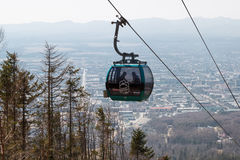 Sakhalin funicular, μπορεί το 2016 Στοκ Φωτογραφία