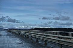 Sakhalin väg Royaltyfri Bild