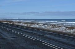 Sakhalin väg Royaltyfri Foto