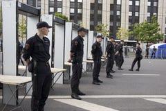 Sakharov-` s Aussicht Politische Sammlung für freies Internet, gegen das Blockieren des Botetelegramms polizei Stockfotografie