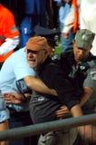sakhnin för polis för bneiventilatorhåll till våldsamma tries Fotografering för Bildbyråer