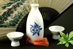 Saki Flasche 2 Lizenzfreies Stockfoto