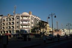 Sakkala - Hurghada';s喜爱的夏天目的地 市中心的大街 库存图片