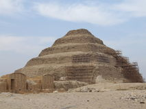 Sakkara pyramids Royalty Free Stock Photos