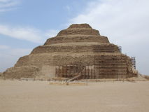 Sakkara pyramids Royalty Free Stock Images