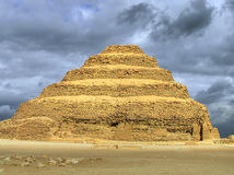 Sakkara step pyramid Royalty Free Stock Image