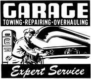 Sakkunnig service för garage Royaltyfria Foton