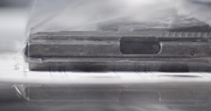 Sakkunskap f?r CSI ballistikvapen stock video