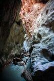 SAKLIKENT峡谷,土耳其 库存图片