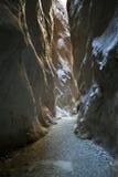 Saklikent canyon Stock Photography