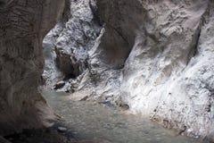 Saklikent canyon Royalty Free Stock Photos