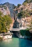 Saklikent Canyon entrance royalty free stock images