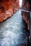 Saklikent Canyon Stock Image