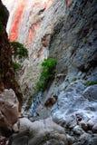 Saklikent góry, Turcja Obraz Stock