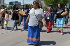 Saknade och mördade infödda kvinnor och flickor Arkivfoton