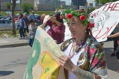 Saknade och mördade infödda kvinnor och flickor Royaltyfria Foton