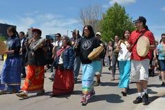 Saknade och mördade infödda kvinnor och flickor Arkivbild