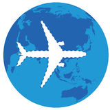 Saknat flygplan Royaltyfri Bild