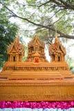 Sakon slut av buddistisk fastlagentradition. Royaltyfri Bild