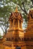 Sakon slut av buddistisk fastlagentradition. Arkivbilder